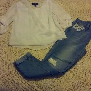 Girls Top & Jeans